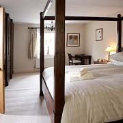 Four poster bed available in The Farmhouse